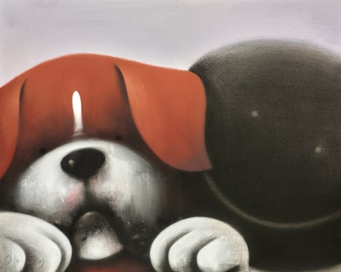The Dynamic Duo by Doug Hyde - Original Drawing on Board